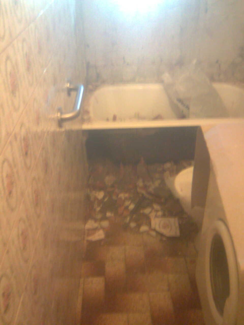 Reforma Baño Adaptado:ULTIMA COLOCACION DE PLATOSPACIO EN BAÑO ADAPTADO PARA MINUSVALIDO