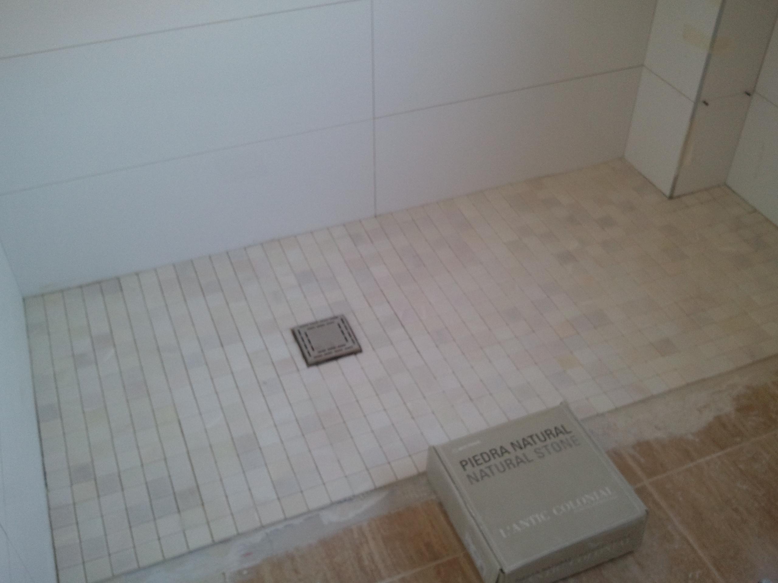 Ba os con ducha a ras de suelo - Suelos de ducha ...