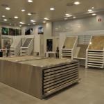 Exposicion de revestimientos, gres, porcelanicos, maderas, ceramicas, en zaragoza.