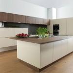 Reforma en cocina nogal en barrio Romareda en Zaragoza