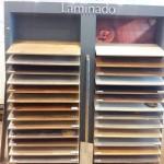 Exposicion de suelos laminados, parquets, maderas , puertas de paso, puertas viviendas, puertas correderas krona, en Zaragoza.